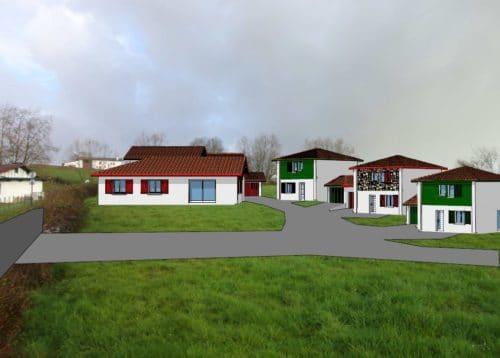 maison T4 de 90m² + garage 15m² Hasparren