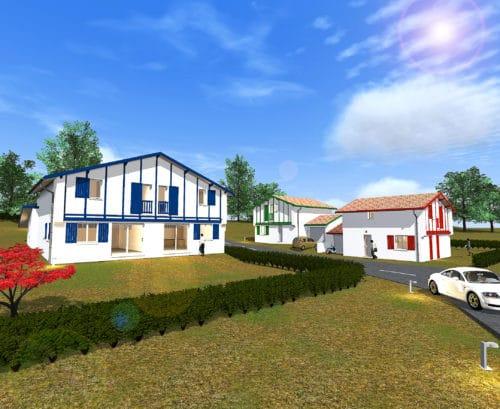 Maisons T4 de 90m²+ Garage 15m² Cambo les bains